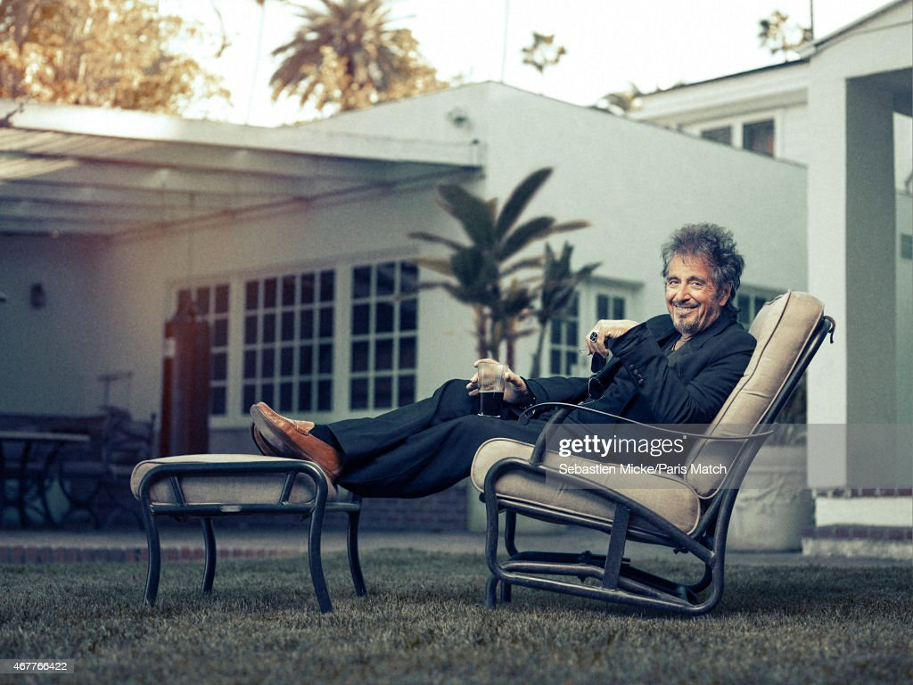 Al Pacino, Paris Match Issue 3436, April 1, 2015