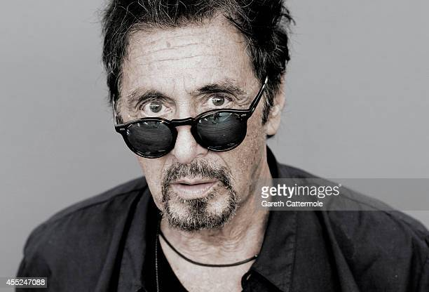 Actor Al Pacino is photographed for a portrait shoot during the 2014 Venice film festival on August 31 2014 in Venice Italy