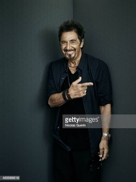 Actor Al Pacino is photographed for Self Assignment on August 28 2014 in Venice Italy