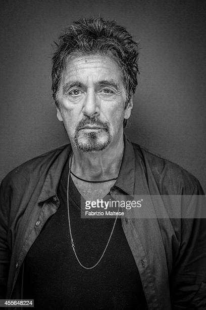 Actor Al Pacino is photographed for Self Assignment on August 31 2014 in Venice Italy