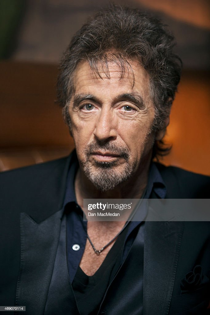 Actor Al Pacino is photographed for USA Today on March 1, 2015 in Beverly Hills, California.