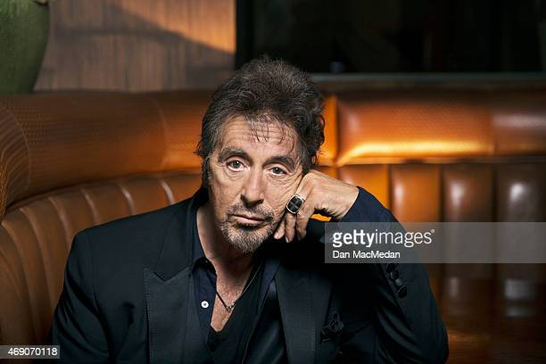 Actor Al Pacino is photographed for USA Today on March 1 2015 in Beverly Hills California PUBLISHED IMAGE