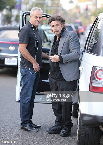 Actor Al Pacino is seen on November 24 2015 in Los Angeles California