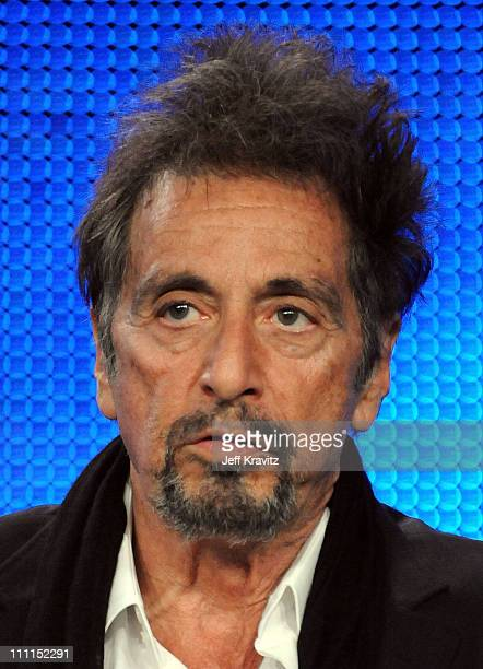 """Actor Al Pacino of """"You Don't Know Jack"""" speak during the HBO portion of the 2010 Television Critics Association Press Tour at the Langham Hotel on..."""