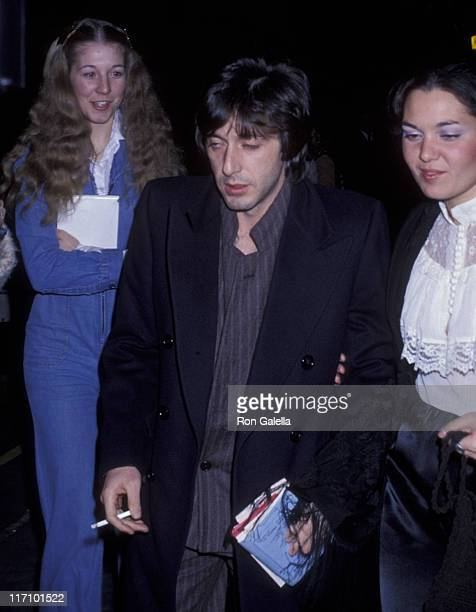 Actor Al Pacino sighted on November 15 1977 in New York City