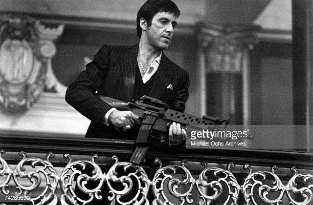 Actor Al Pacino stars in 'Scarface'. Photo by Michael Ochs Archives/Getty Images