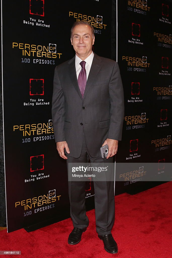 Actor Al Sapienza attends 'Person Of Interest' 100th Episode    News