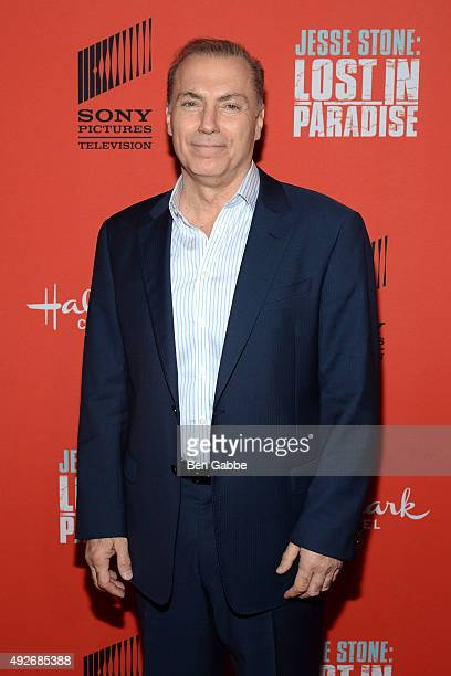 """Actor Al Sapienza attends the """"Jess Stone: Lost In Paradise"""" New York Premiere at Roxy Hotel on October 14, 2015 in New York City."""