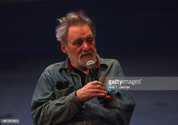 Actor Al Strobel who played on the TV series Twin Peaks the character Mike the Ôonearmed manÕ speaks during a QA session with actors at the sixth...