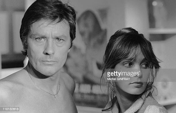 Actor Alain Delon took on both the role of producer and director for the movie 'Pour la Peau d un Flic' in Paris France on August 1981 He also teamed...