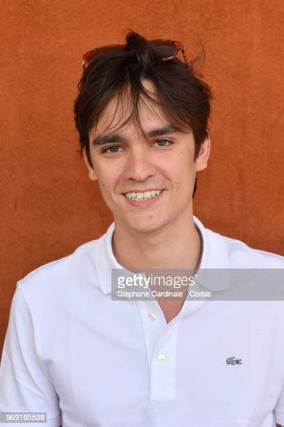 Actor Alain Fabien Delon attends the 2018 French Open Day Twelve at Roland Garros on June 7 2018 in Paris France