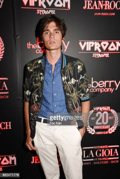 Actor Alain Fabien Delon attends the Tyga Party at VIP Room as part of SaintTropez Party On French Riviera on August 15 2017 in SaintTropez France