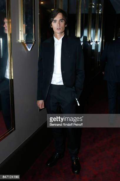Actor AlainFabien Delon attends the Reopening of the Barriere Hotel The Fouquet's decorated by Jacques Garcia at Hotel Barriere Le Fouquet's Paris on...