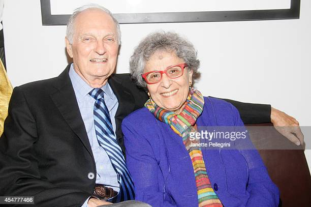 Actor Alan Alda and Arlene Alda attend the Premiere Screening Of The HBO Special Alan Alda YoungArts MasterClass With Discussion By Alda And...