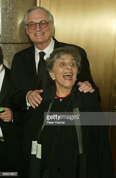 Actor Alan Alda and his wife Arlene Alda attend the 59th Annual Tony Awards at Radio City Music Hall June 5 2005 in New York City