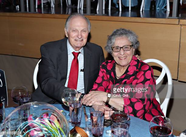 Actor Alan Alda and wife Arlene Alda attend the World Science Festival's 12th Annual Gala at Jazz at Lincoln Center on May 22 2019 in New York City