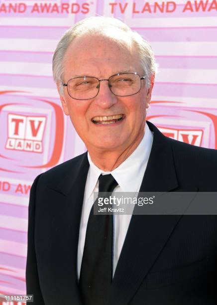 Actor Alan Alda arrives at the 7th Annual TV Land Awards held at Gibson Amphitheatre on April 19, 2009 in Universal City, California.