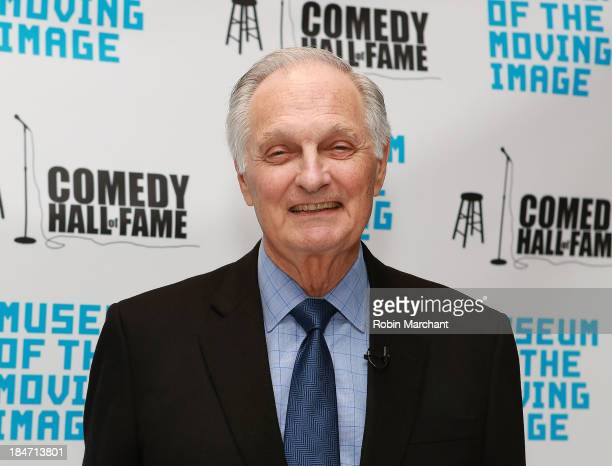Actor Alan Alda attends Iconic Characters Of Comedy Series MASH at Museum of Moving Image on October 15 2013 in New York City