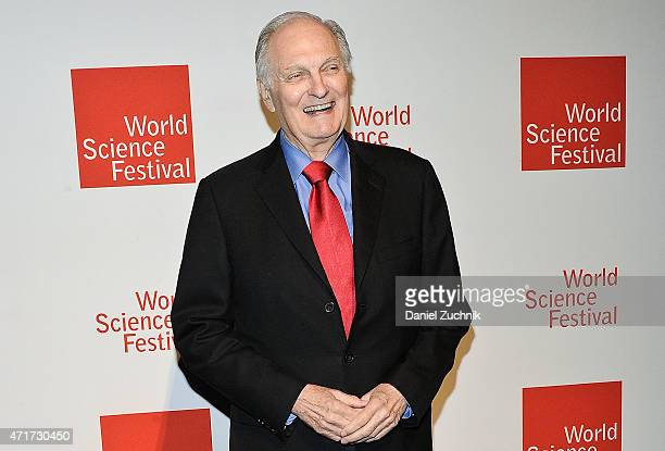 Actor Alan Alda attends the World Science Festival's Annual Spring Gala at Frederick P Rose Hall Jazz at Lincoln Center on April 30 2015 in New York...