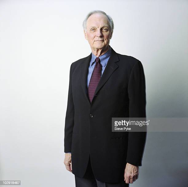 Actor Alan Alda poses for a portrait shoot in New York USA