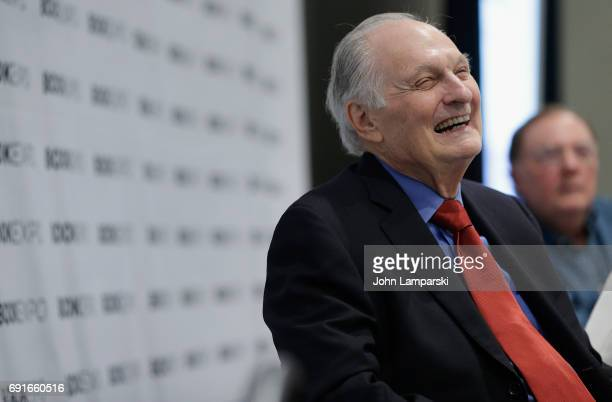 Actor Alan Alda speaks during the Audio Publishers Association panel at the BookExpo 2017 at Javits Center on June 2 2017 in New York City