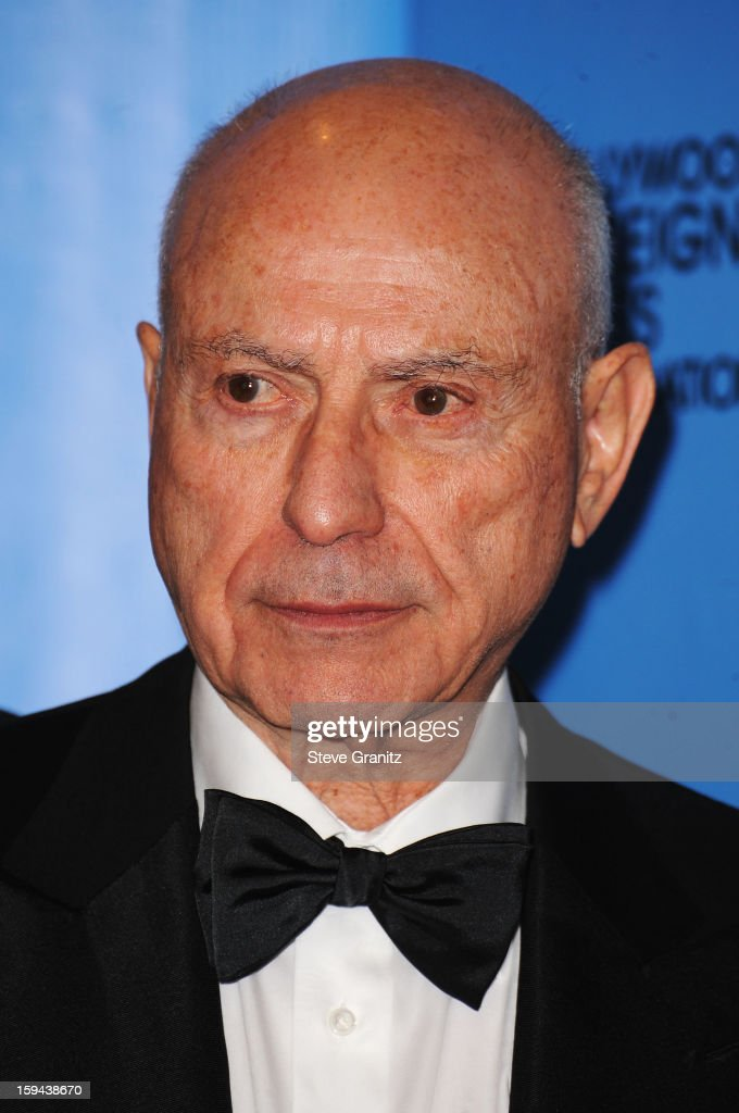 Actor Alan Arkin poses in the press room at the 70th Annual Golden Globe Awards held at The Beverly Hilton Hotel on January 13, 2013 in Beverly Hills, California.