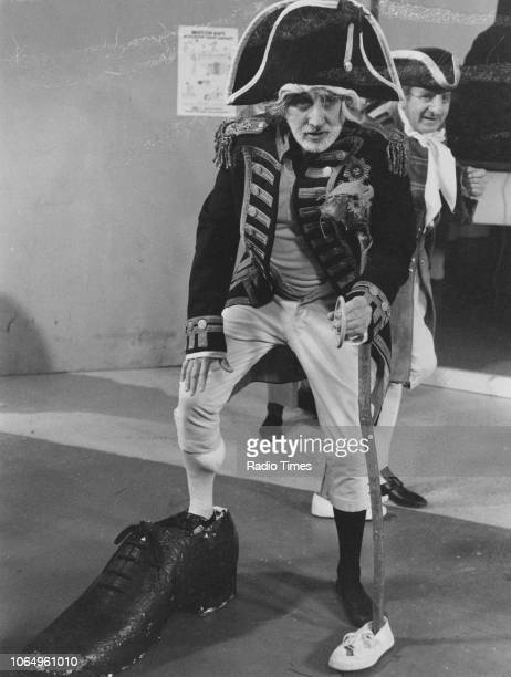 Actor Alan Badel in a scene from the BBC Play of the Month 'Trilby' November 19th 1975