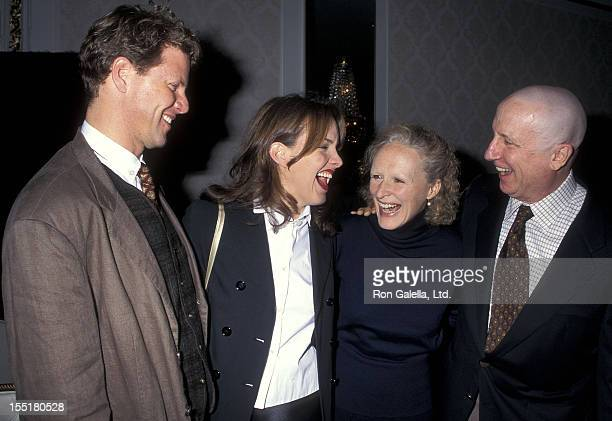 Actor Alan Campbell actress Alice Ripley actress Glenn Close and actor George Hearn attend the 61st Annual Drama League Awards on May 5 1995 at The...