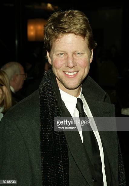 Actor Alan Campbell attends the play opening of 'Fiddler on the Roof' February 26 2004 in New York City