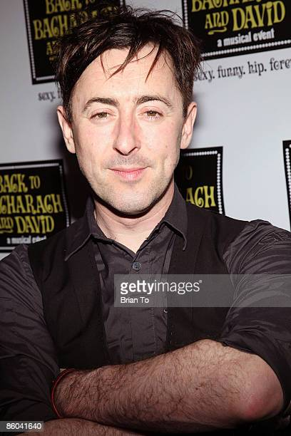 Actor Alan Cumming arrives at Back to Bacharach and David Opening Night at Henry Fonda Theatre on April 19 2009 in Hollywood California