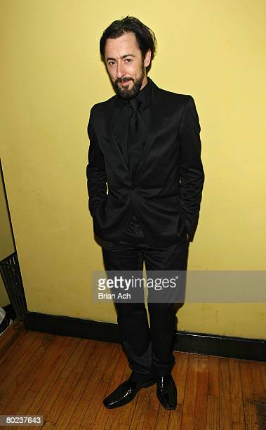 Actor Alan Cumming at The Seagull opening night after party at Pangea on March 13 in New York City