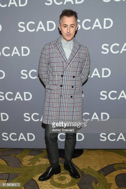 Actor Alan Cumming attends a press junket for 'Instinct' on Day 3 of the SCAD aTVfest 2018 on February 3 2018 in Atlanta Georgia