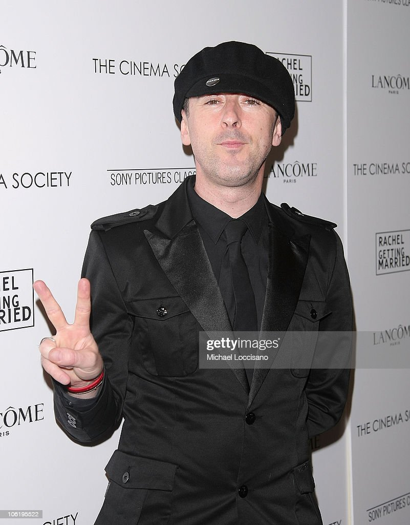 Actor Alan Cumming attends a screening of 'Rachel Getting Married' hosted by The Cinema Society and Lancome at the Landmark Sunshine Theatre on September 25, 2008 in New York City.
