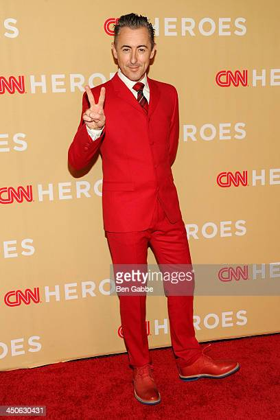 Actor Alan Cumming attends the 2013 CNN Heroes at the American Museum of Natural History on November 19 2013 in New York City
