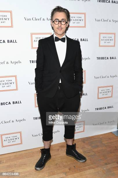 Actor Alan Cumming attends the 2017 Tribeca Ball at the New York Academy of Art on April 3 2017 in New York City
