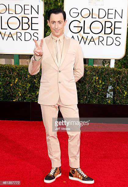 Actor Alan Cumming attends the 72nd Annual Golden Globe Awards at The Beverly Hilton Hotel on January 11 2015 in Beverly Hills California