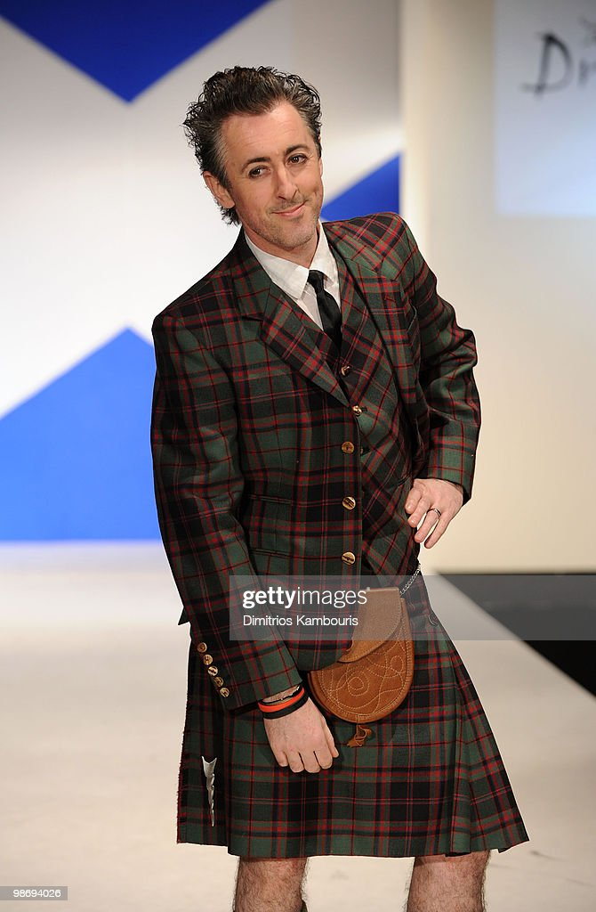Actor Alan Cumming attends the 8th annual 'Dressed To Kilt' Charity Fashion Show at M2 Ultra Lounge on April 5, 2010 in New York City.