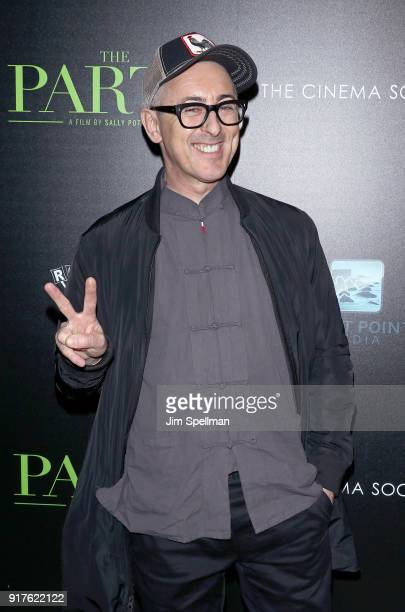 Actor Alan Cumming attends the screening of The Party hosted by Roadside Attractions and Great Point Media with The Cinema Society at Metrograph on...