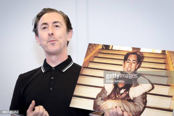Actor Alan Cumming hosts a news conference with PETA exposing the fate of discarded chimpanzees at PETA on June 23 2017 in Los Angeles California