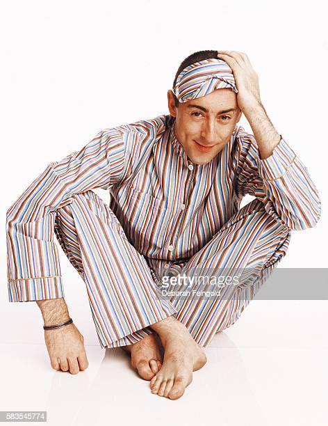 Actor Alan Cumming posing for DNR magazine on May 2001 in New York New York