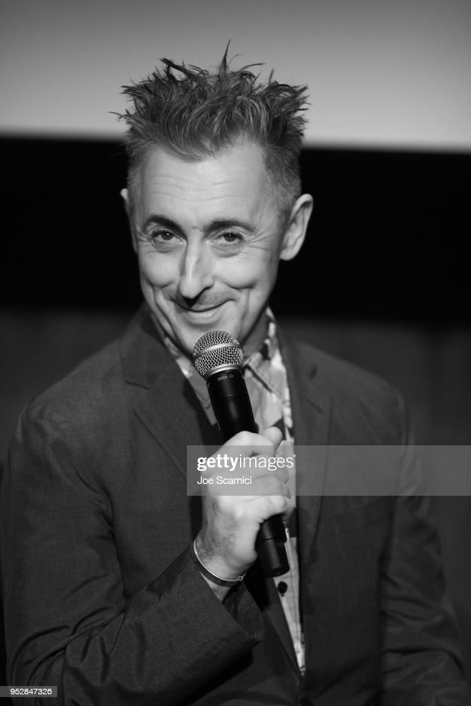 Actor Alan Cumming speaks onstage at 'Hamlet' during day 4 of the 2018 TCM Classic Film Festival on April 29, 2018 in Hollywood, California. 350482.