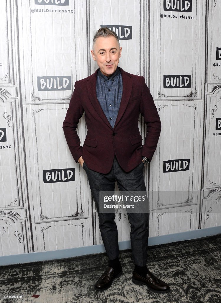 Actor Alan Cumming visits Build Series to discuss 'Instinct' at Build Studio on March 14, 2018 in New York City.