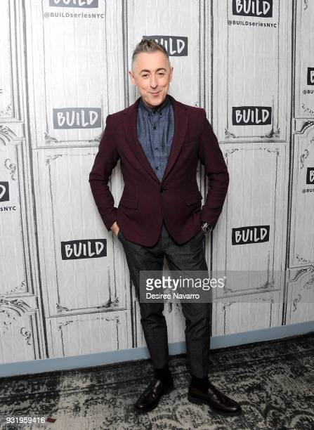Actor Alan Cumming visits Build Series to discuss 'Instinct' at Build Studio on March 14 2018 in New York City