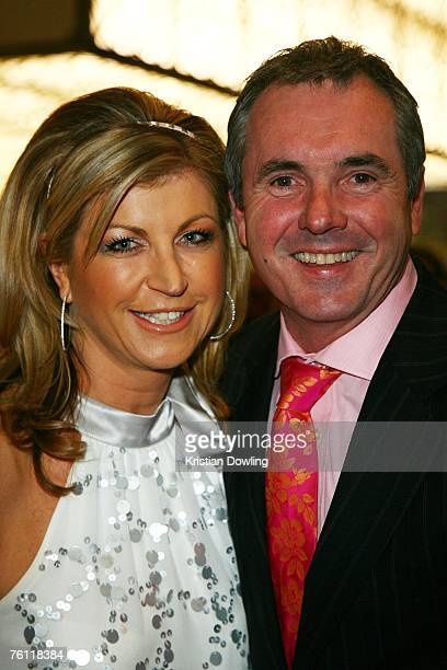 Actor Alan Fletcher and wife and news reporter Jennifer Hanson arrive for the opening of the new Nobu restaurant in the Crown Entertainment Complex...