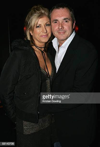 Actor Alan Fletcher and wife and TV personality Jennifer Hanson at the Neighbours Rocks for AIDS Fundraiser June 23 2005 at the Palace in Melbourne...