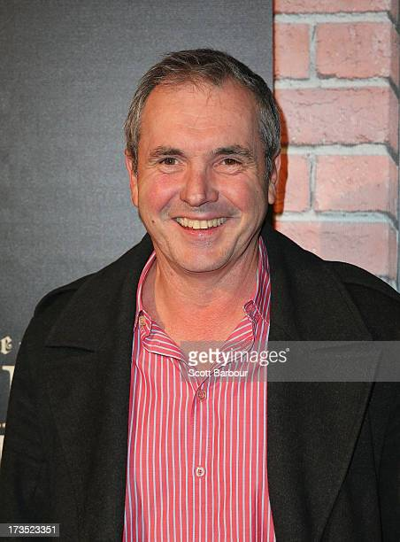 Actor Alan Fletcher arrives for 'The World's End' Australian premiere at Hoyts Melbourne Central on July 16 2013 in Melbourne Australia
