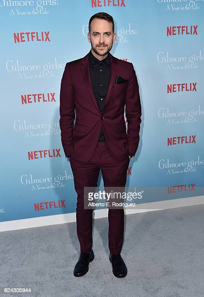 Actor Alan Loayza attends the premiere of Netflix's 'Gilmore Girls A Year In The Life' at the Regency Bruin Theatre on November 18 2016 in Los...