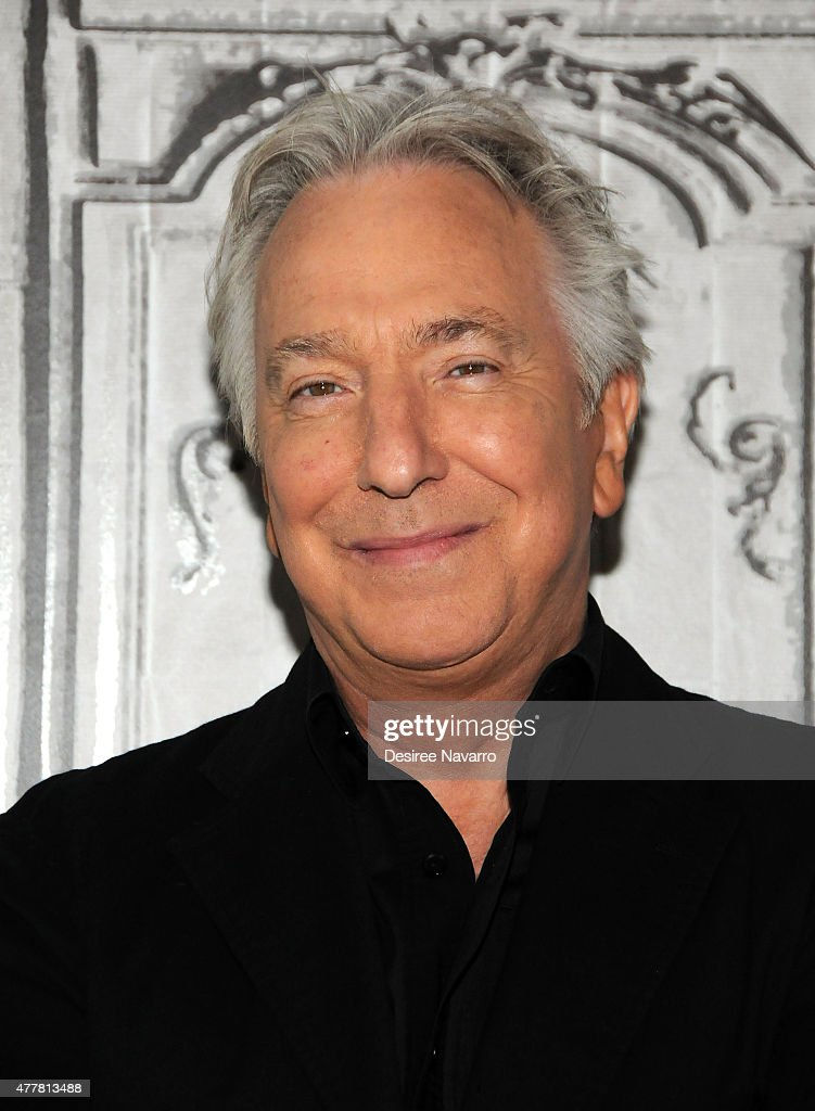 Actor Alan Rickman attends AOL Build Speaker Series Presents: Alan Rickman at AOL Studios In New York on June 19, 2015 in New York City.