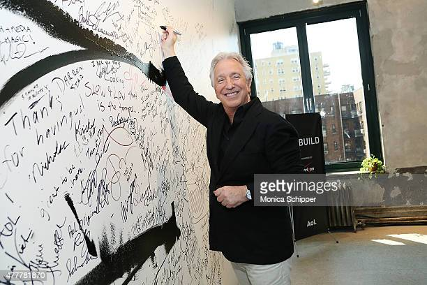 Actor Alan Rickman attends the AOL Build Speaker Series at AOL Studios In New York on June 19 2015 in New York City
