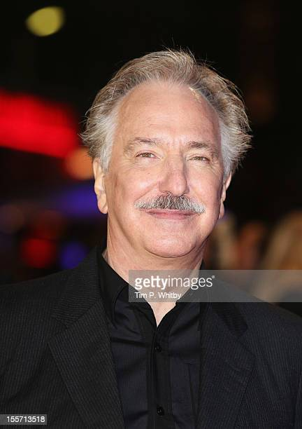 Actor Alan Rickman attends the World Premiere of Gambit at Empire Leicester Square on November 7 2012 in London England